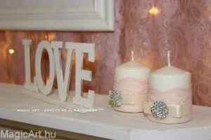 Asztali dekoráció